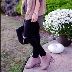 Jessica Simpson suede Booties 🍂🍁